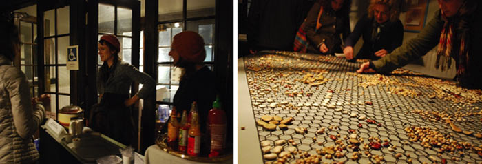 John Shipman, Seven Bean Chili and Bean Sort Models of the Universe, Scotiabank Nuit Blanche 2014