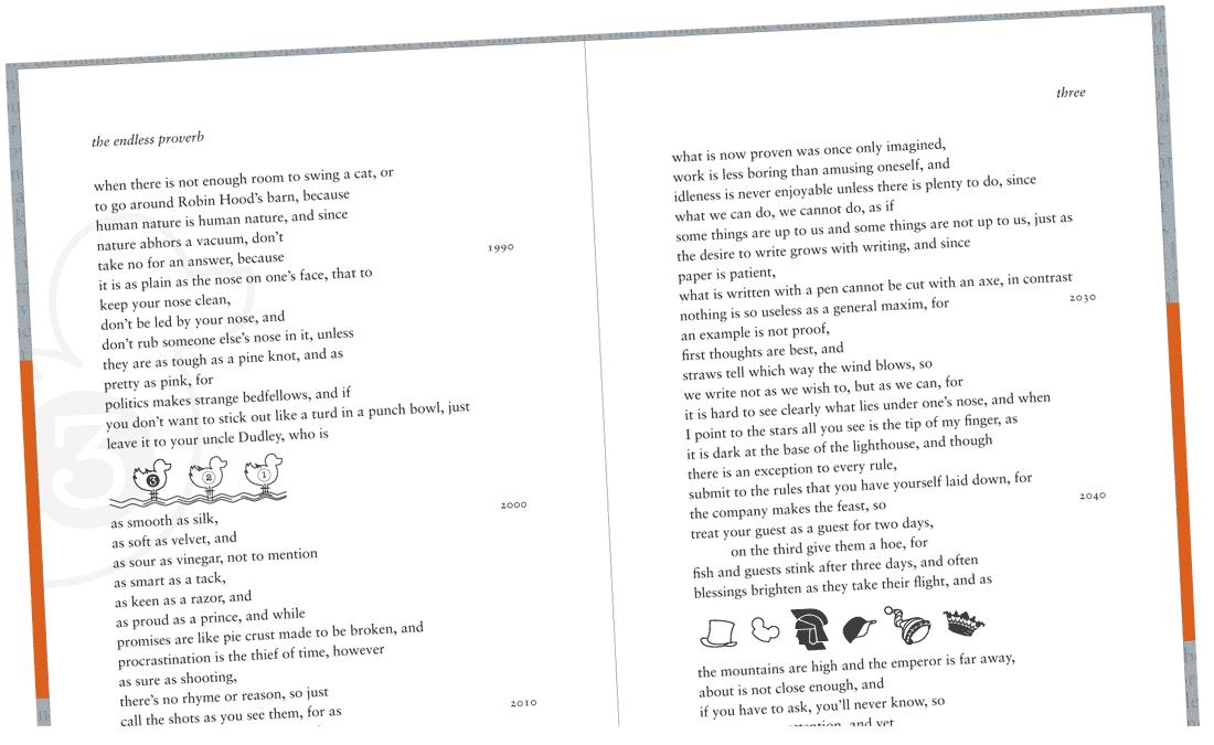 The Endless Proverb by John Shipman, 2013-2015