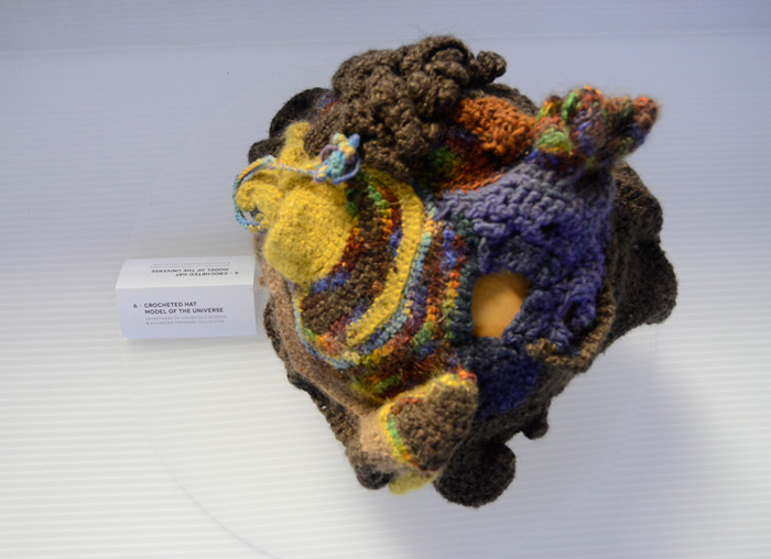 Elisabeth Shipman, Crochet Hat Model of the Universe, 2013