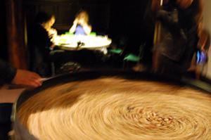 John Shipman, Dried Beans Models of the Universe: beansort model, 2014