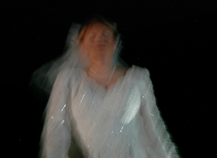 John Shipman, bride in white from In Search of a Wife in Search of a Husband, 2009