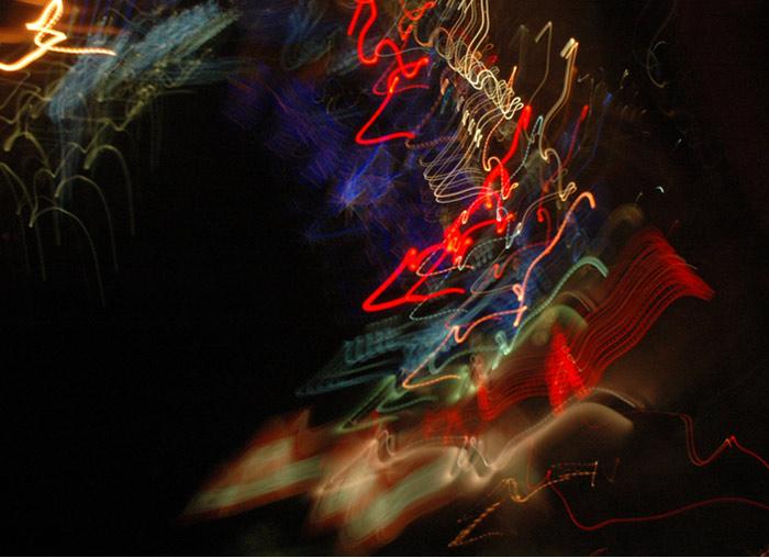 john Shipman, Night Light Atlas of Toronto video image for The Temptations of St. Clair, 2008