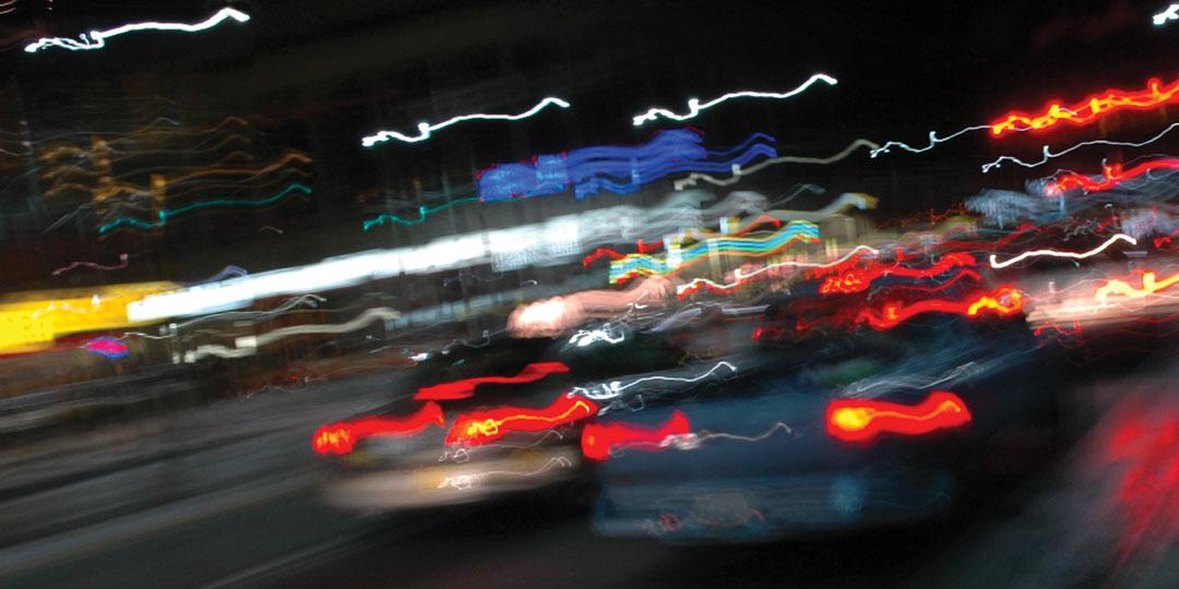 John Shipman, Night Light Atlas of Toronto: a collection of videos using a camera-in-motion, 2007-2010